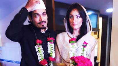 Inside Pics: Actor Shawar Ali marries girlfriend Marsela Ayesha