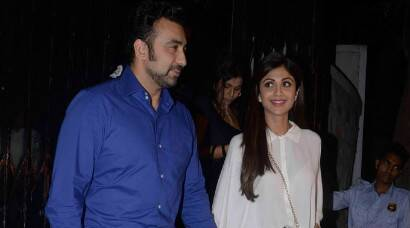 Shilpa Shetty, Raj Kundra's second date in a row