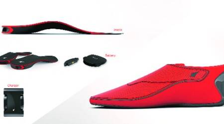 Wearable tech from India: Footwear that shows theway