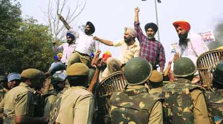 Sikh groups protest outside CBI office over its clean chit to Tytler