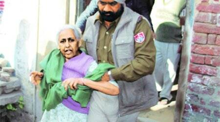 Traumatised family  leaves home, 'first time after 1984 riots'