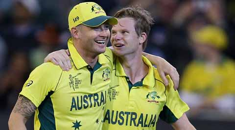 I thought it was a fitting farewell for Pup (Michael Clarke), says SteveSmith
