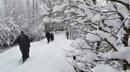 Heavy snowfall throws life out of gear in Valley, one killed