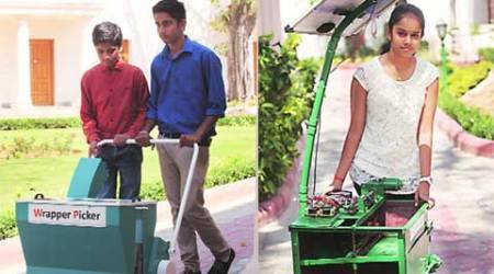 Rashtrapati Bhavan, Swachh bharat, swachh bharat abhiyan, solar dustbin, young innovators, india news, nation news, national news