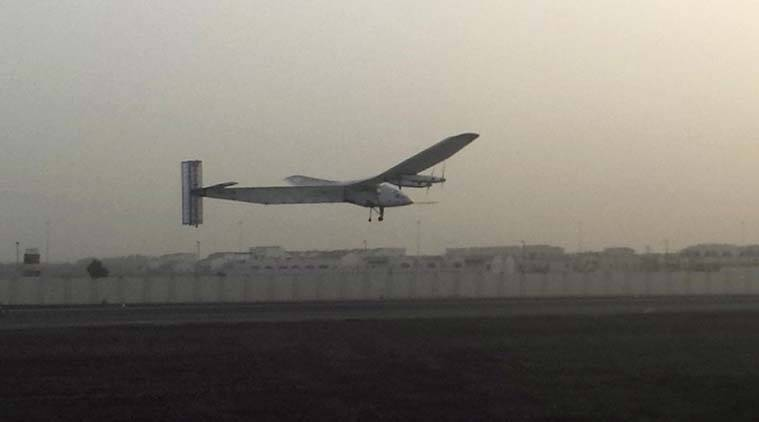 solar impulse, solar plane, solar impulse India, solar plane india, solar impulse plane, first solar plane, first solar plane flies, solar plane across the world, Borschberg, Piccard, Encironment news, World News