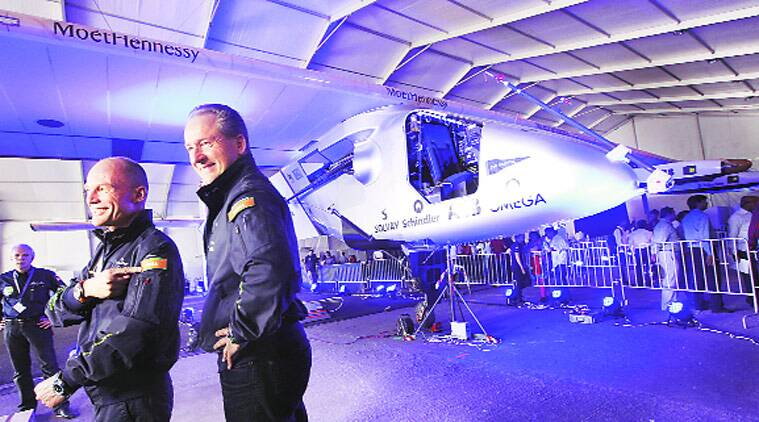 solar impulse 2, solar plane, public viewing solar impulse 2, solar plane ahmedabad