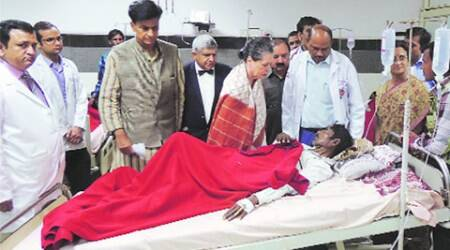 Rae Bareli train tragedy toll rises to 34, Sonia meets victims