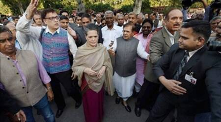 Land Acquisition Bill, Sonia Gandhi, Congress