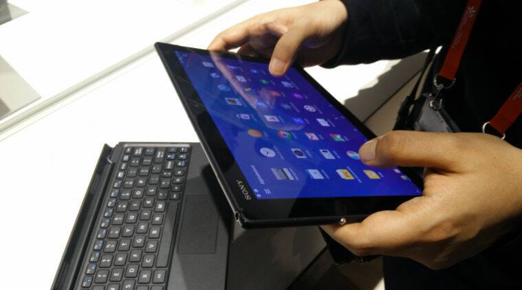 MWC 2015: Sony showcases Xperia Z4 tablet, Xperia M4 Aqua ...