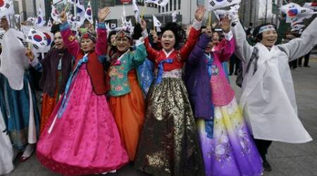 South Korea celebrates the March First Independence Movement Day