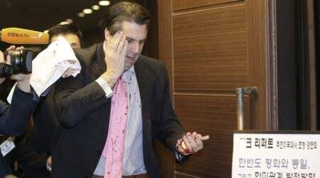 Brutal knife attack on US ambassador to South Korea