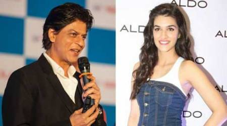 Kriti Sanon, shah rukh khan, Kriti Sanon news, Kriti Sanon actress, Kriti Sanon movies, shahrukh khan, kriti shah rukh, srk kriti, kriti srk, Kriti Sanon shah rukh khan, shah rukh khan Kriti Sanon, Kriti Sanon shahrukh, shahrukh, entertainment news, indian express, indian express news