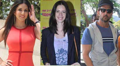 Monday Spottings: Hrithik Roshan leaves for Bhuj, Sunny Leone, Kalki are on promotion duties