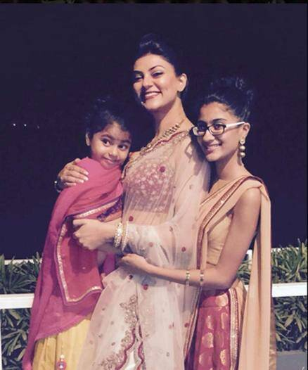 Sushmita Sen, Sushmita Sen daughter Renee