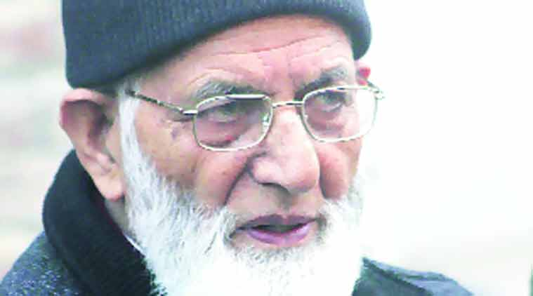 hurriyat, geelani, hurriyat leaders detained, syed ali shah geelani, hurriyat leaders arrested, geelani, nsa talks, jammu news, kashmir news, india news, indian express