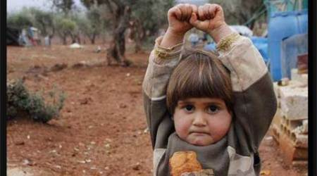 This viral photo of a Syrian child will melt your heart
