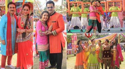 TV's famous couples celebrate Holi