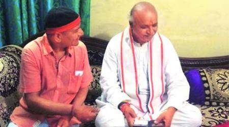 Church attack-accused meets Pravin Togadia