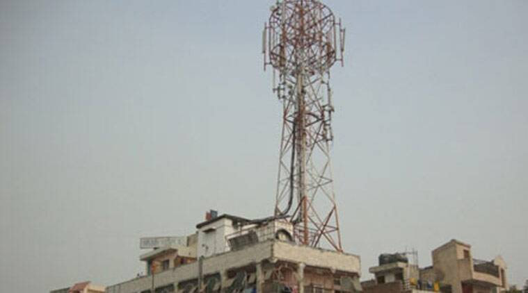 rooftop phone tower, cell phone tower, Noida Authority, electricity supply, ACEO