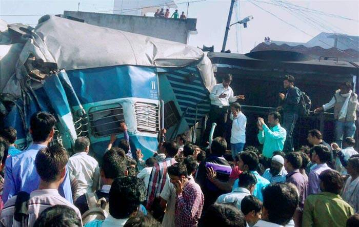 Train accident, Dehradun-Varanasi Janta Express, Bachrawan Railway Station