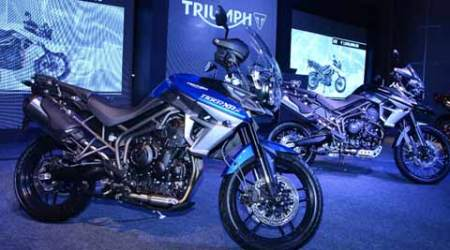 Triumph launches new Tiger XCx and XRx models inIndia