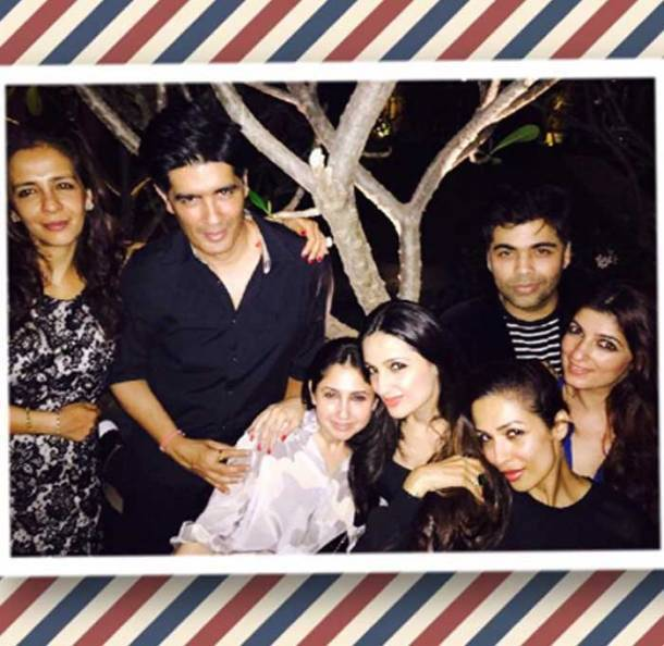 Twinkle Khanna's dinner date with Karan Johar and Malaika Arora Khan