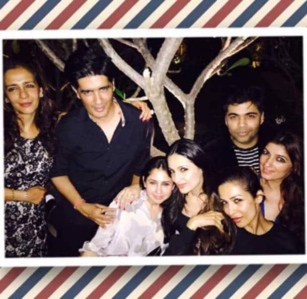 Twinkle Khanna's dinner date with Karan Johar and Malaika Arora Khan
