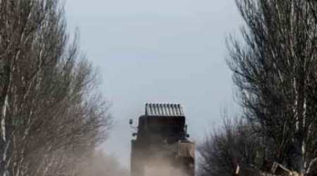 Ukraine declares heavy weapons pullback from front line
