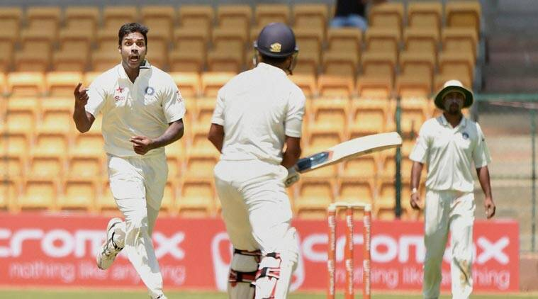 Irani Cup, Varun Aaron, Aaron Irani Cup, Irani Cup Aaron, Karnataka vs Rest Of India, Cricket News, Cricket