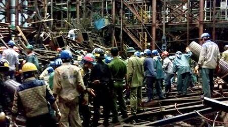 Vietnam Scaffolding Collapse