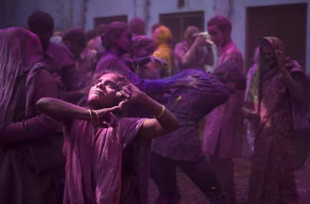 Holi, Holi celebrations, Vrindavan Holi