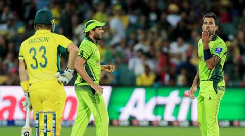 Wahab Riaz, Shane Watson fined for 'crossing the fine line'
