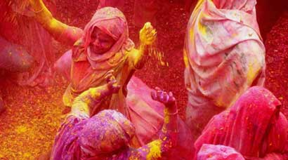 Breaking stigmas, widows play Holi in Mathura and Vrindavan