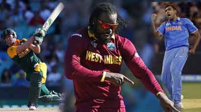 World Cup 2015 Week: Chris Gayle's assault, the AB masterclass and India's walk
