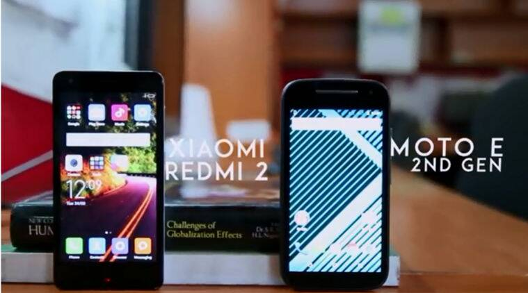 Xiaomi, Motorola, Motorola Moto E (2nd gen) vs Xiaomi Redmi 2, video review