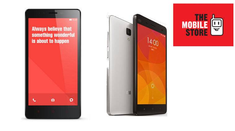Xiaomi Mi 4 And Redmi Note 4g Now Available At The Mobile Store