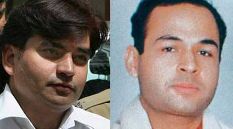 Vikas Yadav (left) and Nitish Katara (right)