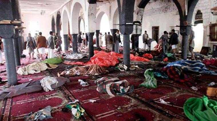 Suicide bombings, Yemen mosque