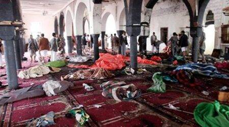 Bombings in Yemen mosques kill more than 130; Islamic State claims responsibility