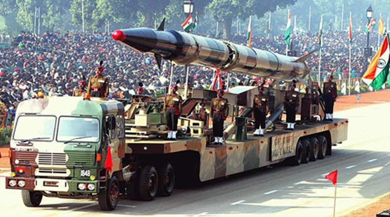 agni missile, republic day parade, india, DRDO