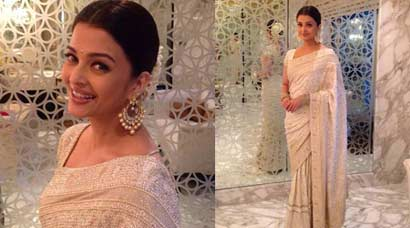 PHOTOS: Aishwarya Rai Bachchan stuns in white