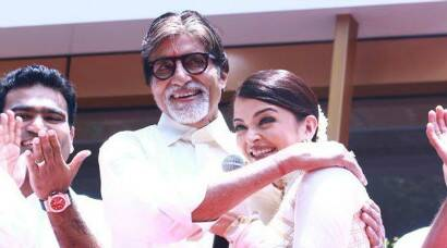 Aishwarya Rai, father-in-law Amitabh Bachchan woo Chennai