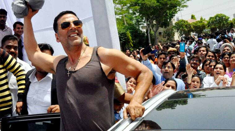 Twinkle Was Happy With My Look In Gabbar Is Back Akshay Kumar