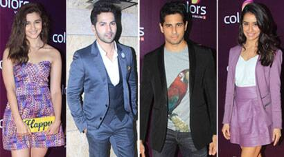 Alia, Varun, Sidharth, Shraddha walk the red carpet in style