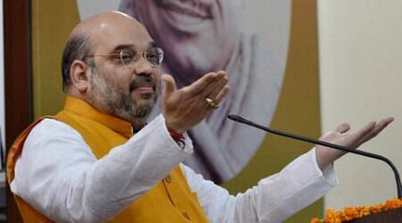 Amit Shah, Bharatiya Janata Party, Tamil Nadu, Dravidian governments, Lok Sabha elections, BJP Tamil Nadu, Amit Shah visits Tamil Nadu, Nation news, Politics news, India news, Indian Express