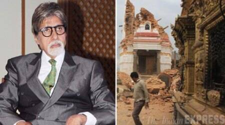 Horrid to see destruction of Nepal's heritage buildings: Amitabh Bachchan