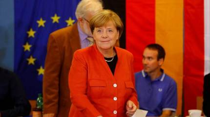 Angela Merkel wins fourth term as far-right enters German parliament: Exit polls