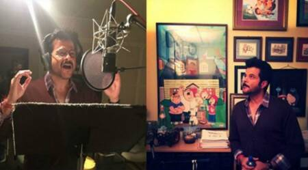 Anil Kapoor dubs for 'Family Guy' in LA