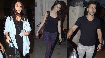 Not dressed to the nines, yet rocking: Anushka, Shraddha, Varun