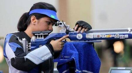 Above the din, Apurvi Chandela finds her zone